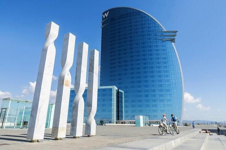 hotel w em barcelona