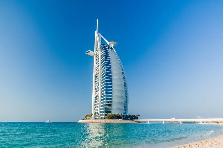 Burj Al Arab hotel 7 estrelas no dubai
