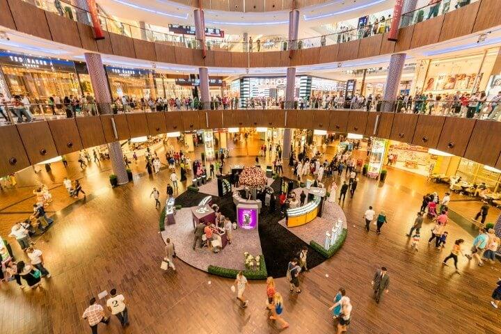 dubai mall centro comercial