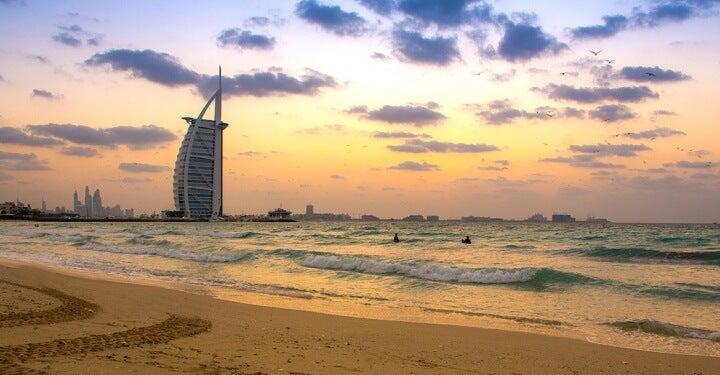 praia Umm Suqeim em dubai