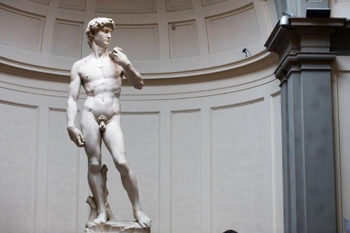 Galleria dell'Accademia em florença - itália