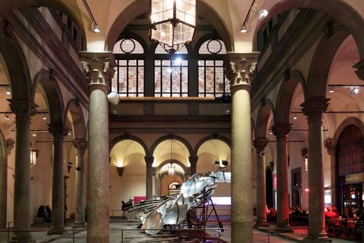 Palazzo Strozzi em florença - itália