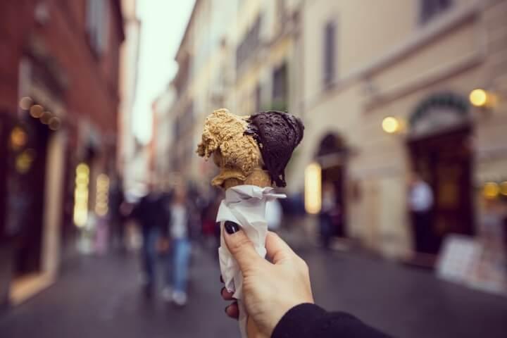 gelado em florença - itália