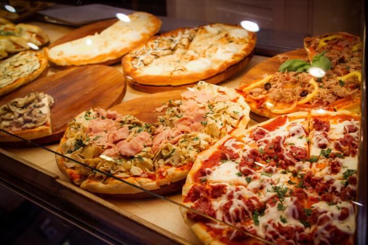 pizza em florença - itália